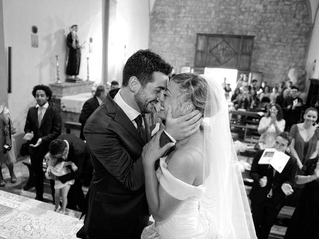 Il matrimonio di Monica e Alessio a Monteriggioni, Siena 31