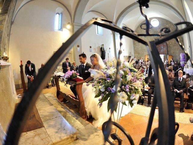 Il matrimonio di Monica e Alessio a Monteriggioni, Siena 34