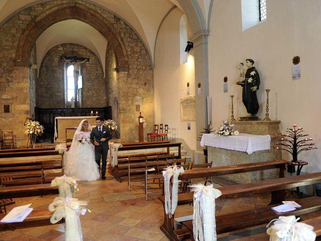 Il matrimonio di Monica e Alessio a Monteriggioni, Siena 40