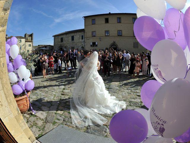 Il matrimonio di Monica e Alessio a Monteriggioni, Siena 41