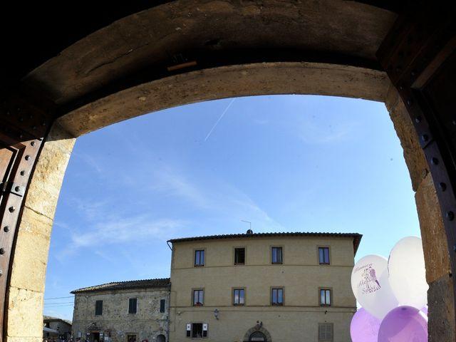 Il matrimonio di Monica e Alessio a Monteriggioni, Siena 42