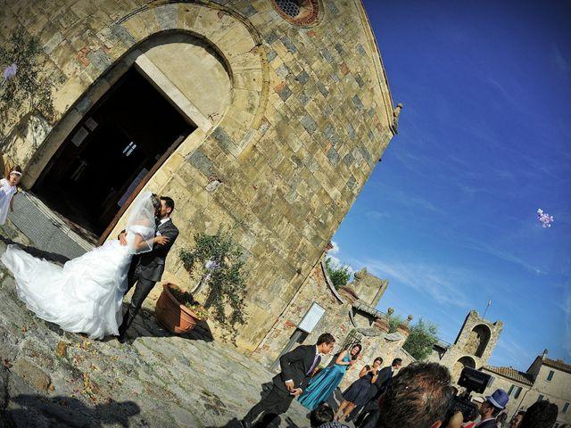 Il matrimonio di Monica e Alessio a Monteriggioni, Siena 44