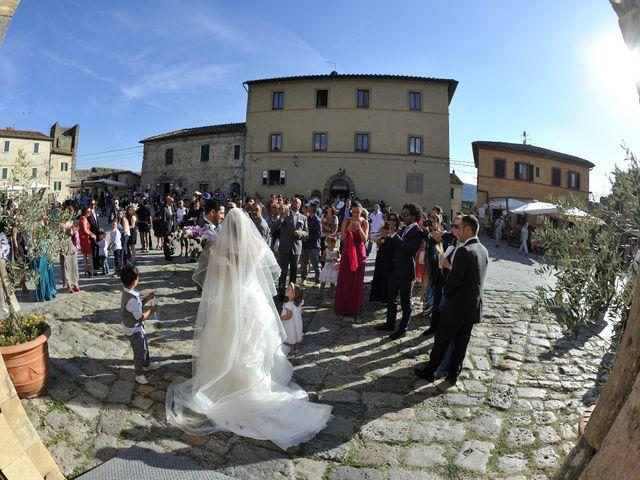 Il matrimonio di Monica e Alessio a Monteriggioni, Siena 45