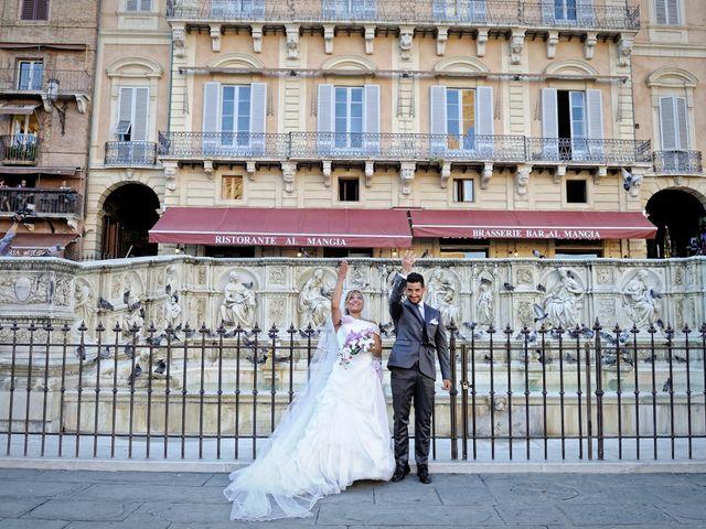 Il matrimonio di Monica e Alessio a Monteriggioni, Siena 48