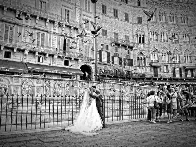 Il matrimonio di Monica e Alessio a Monteriggioni, Siena 49