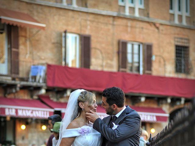 Il matrimonio di Monica e Alessio a Monteriggioni, Siena 50