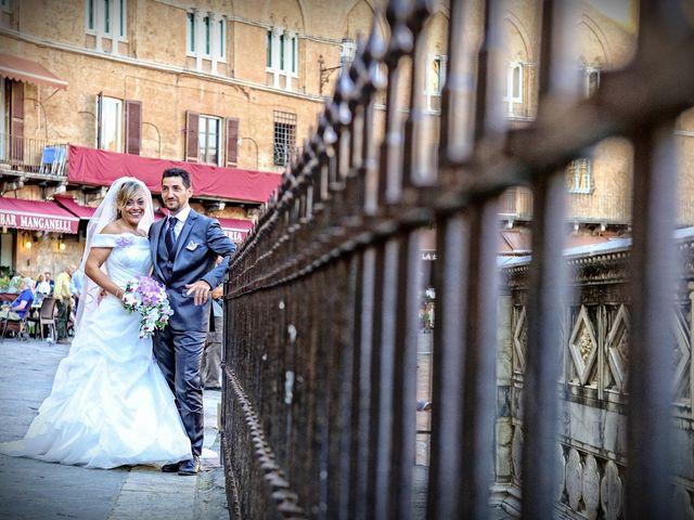 Il matrimonio di Monica e Alessio a Monteriggioni, Siena 51