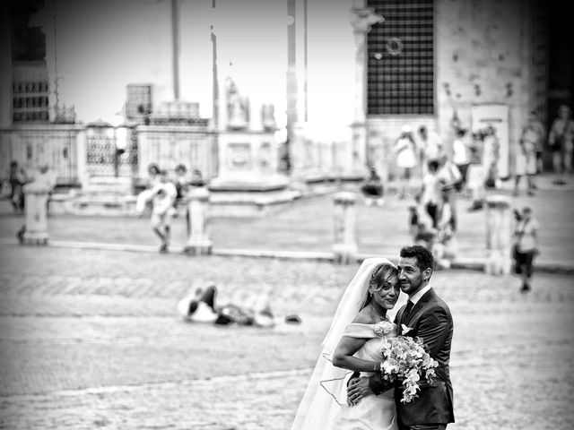 Il matrimonio di Monica e Alessio a Monteriggioni, Siena 52