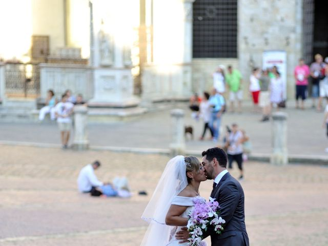 Il matrimonio di Monica e Alessio a Monteriggioni, Siena 53
