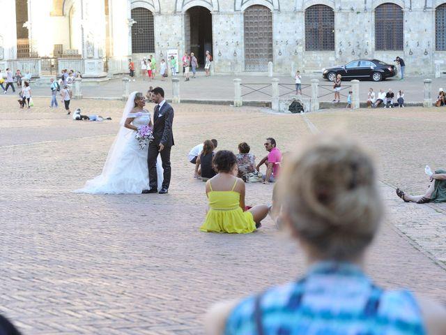 Il matrimonio di Monica e Alessio a Monteriggioni, Siena 54
