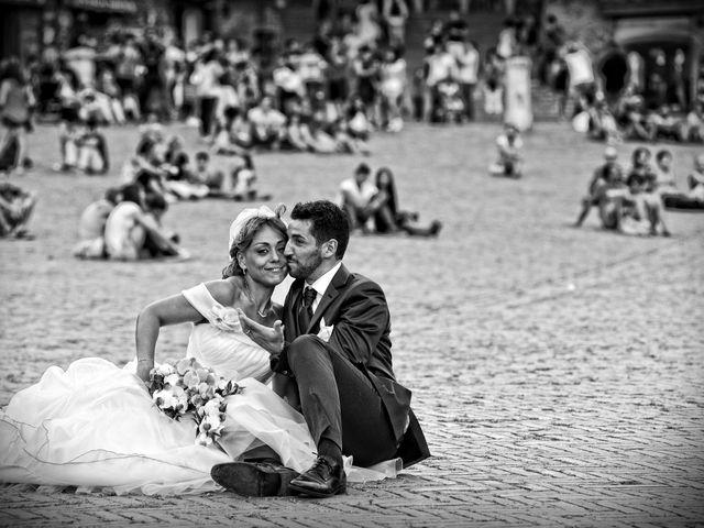 Il matrimonio di Monica e Alessio a Monteriggioni, Siena 58