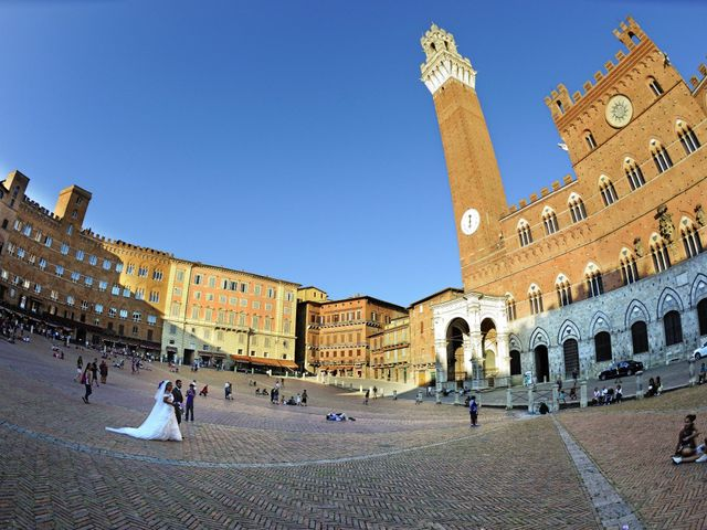 Il matrimonio di Monica e Alessio a Monteriggioni, Siena 59