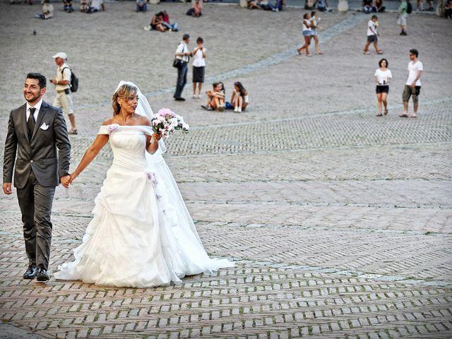 Il matrimonio di Monica e Alessio a Monteriggioni, Siena 60