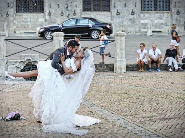 Il matrimonio di Monica e Alessio a Monteriggioni, Siena 62