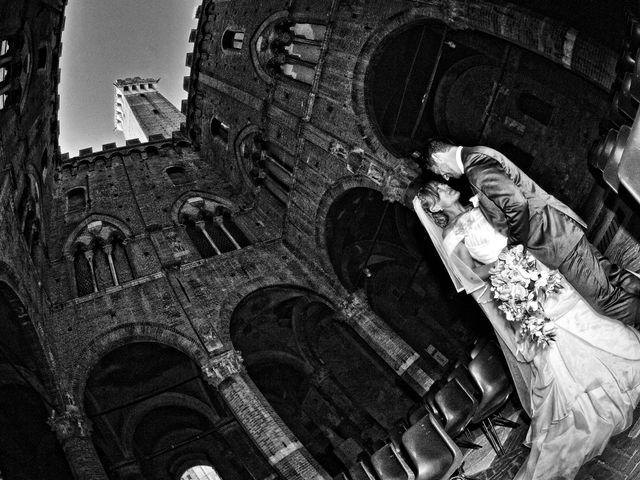 Il matrimonio di Monica e Alessio a Monteriggioni, Siena 64