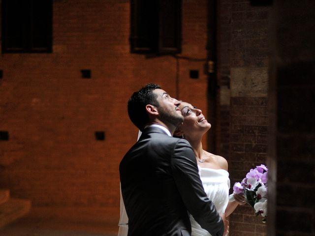 Il matrimonio di Monica e Alessio a Monteriggioni, Siena 65