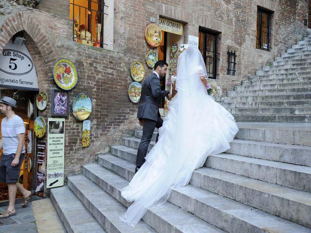 Il matrimonio di Monica e Alessio a Monteriggioni, Siena 72