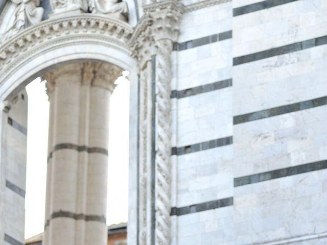 Il matrimonio di Monica e Alessio a Monteriggioni, Siena 73