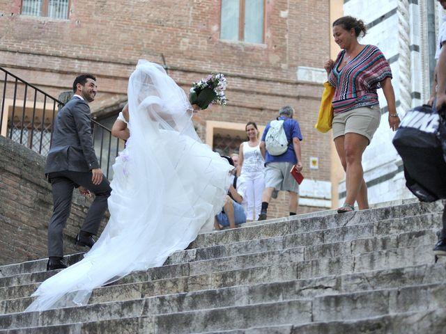 Il matrimonio di Monica e Alessio a Monteriggioni, Siena 74