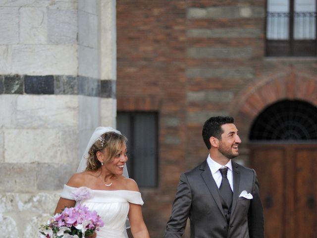 Il matrimonio di Monica e Alessio a Monteriggioni, Siena 75