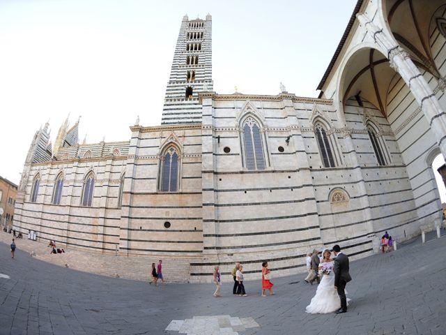 Il matrimonio di Monica e Alessio a Monteriggioni, Siena 77