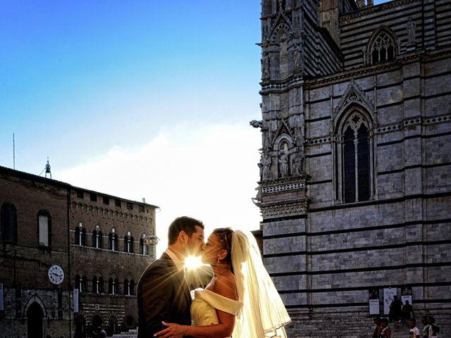 Il matrimonio di Monica e Alessio a Monteriggioni, Siena 80
