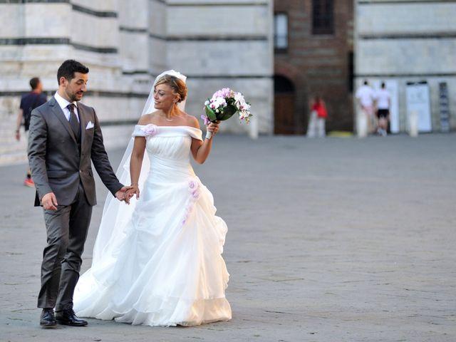 Il matrimonio di Monica e Alessio a Monteriggioni, Siena 82