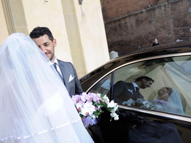 Il matrimonio di Monica e Alessio a Monteriggioni, Siena 84