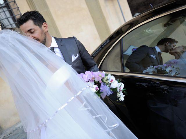 Il matrimonio di Monica e Alessio a Monteriggioni, Siena 87