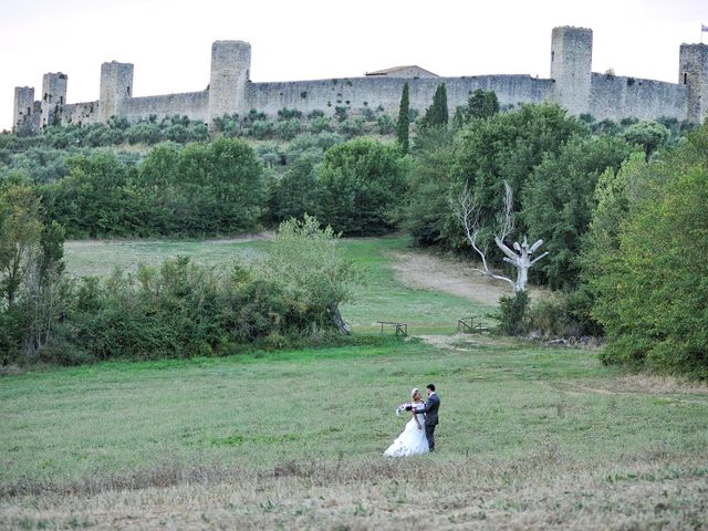 Il matrimonio di Monica e Alessio a Monteriggioni, Siena 90
