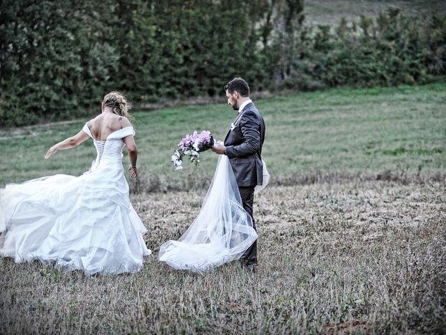 Il matrimonio di Monica e Alessio a Monteriggioni, Siena 92
