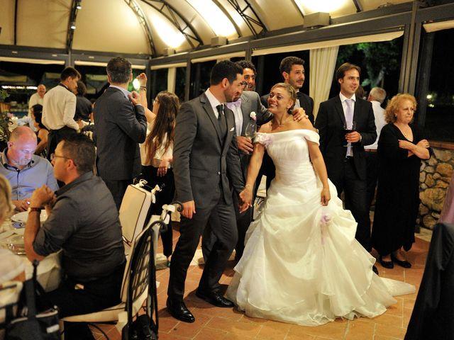 Il matrimonio di Monica e Alessio a Monteriggioni, Siena 100