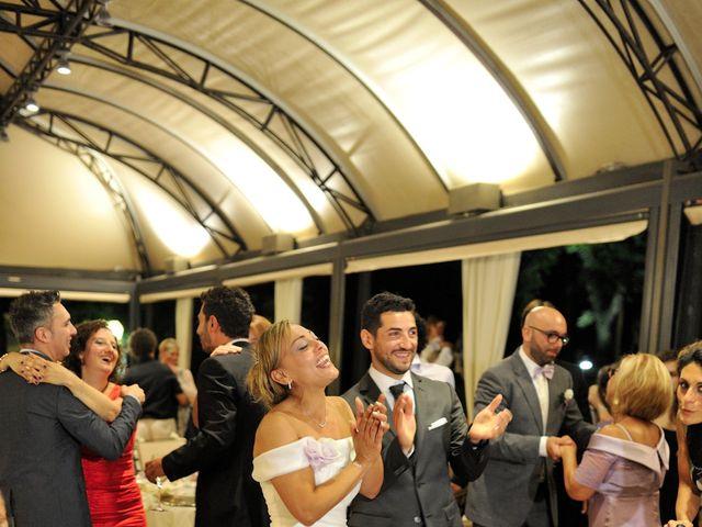 Il matrimonio di Monica e Alessio a Monteriggioni, Siena 107
