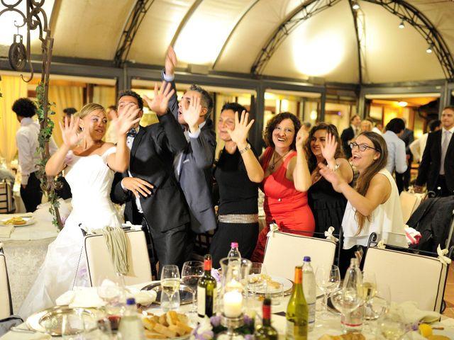 Il matrimonio di Monica e Alessio a Monteriggioni, Siena 113