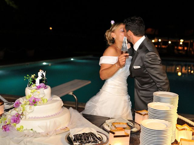Il matrimonio di Monica e Alessio a Monteriggioni, Siena 122