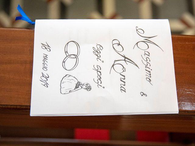 Il matrimonio di Massimo e Anna a Monteforte d'Alpone, Verona 1