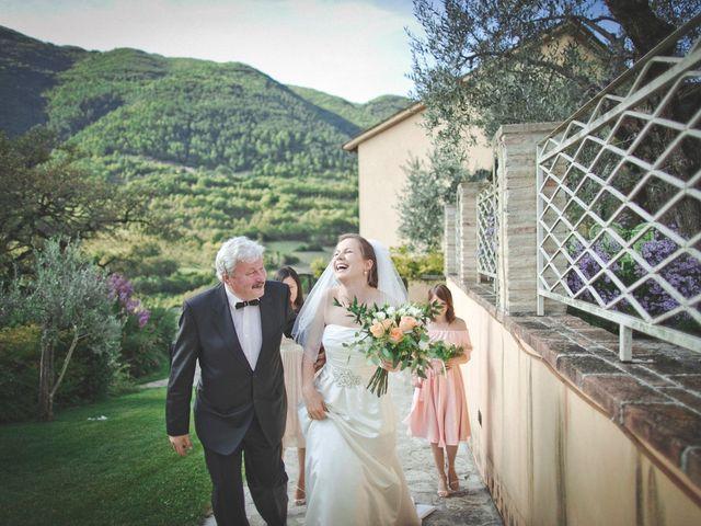Il matrimonio di Pepijin e Maria a Scheggino, Perugia 60