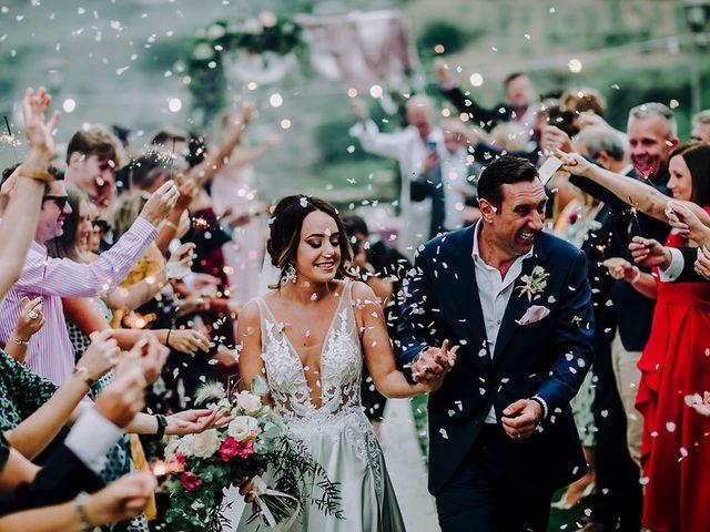 Le nozze di Hayley e Neil