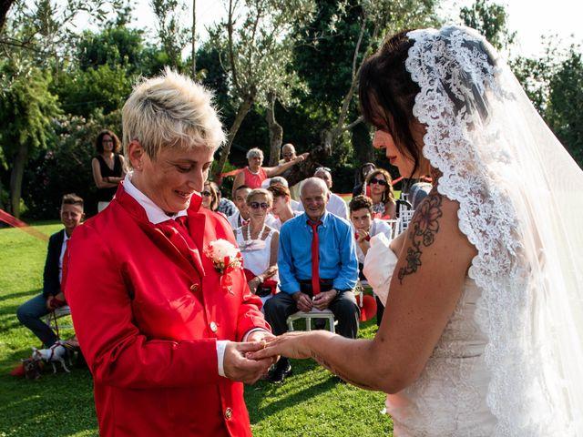 Il matrimonio di Giovanna e Eleonora a Pavia, Pavia 28