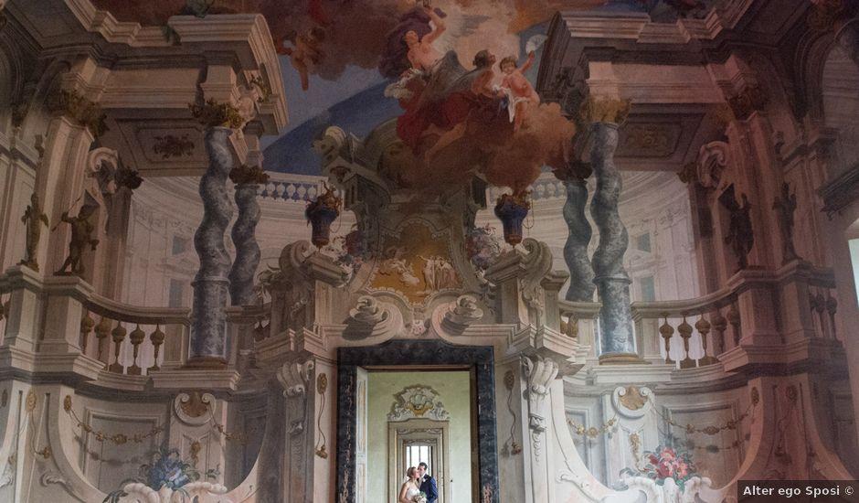 Il matrimonio di Andrea e Suna a Arese, Milano