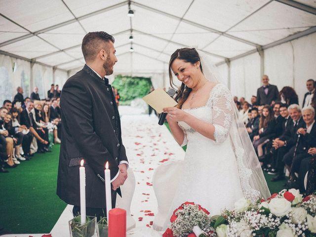 Il matrimonio di Claudio e Marianna a Montorfano, Como 16