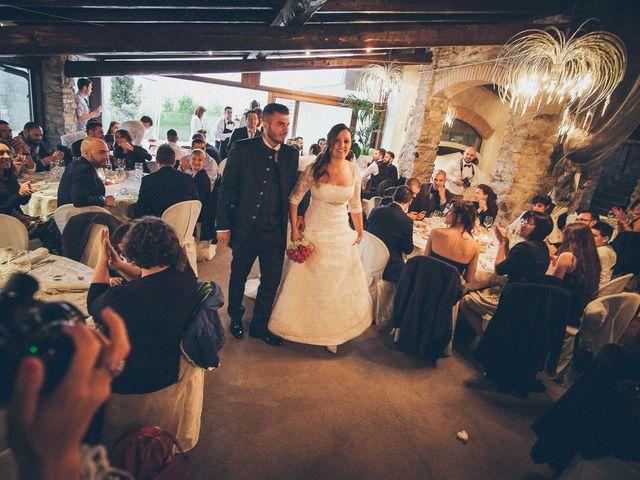 Il matrimonio di Claudio e Marianna a Montorfano, Como 33