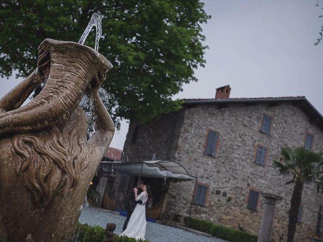 Il matrimonio di Claudio e Marianna a Montorfano, Como 45