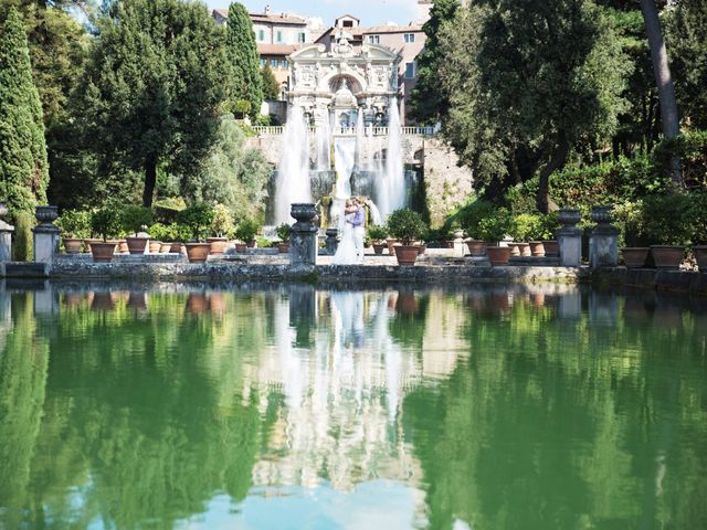 Il matrimonio di Andrea e Eva a Tivoli, Roma 15