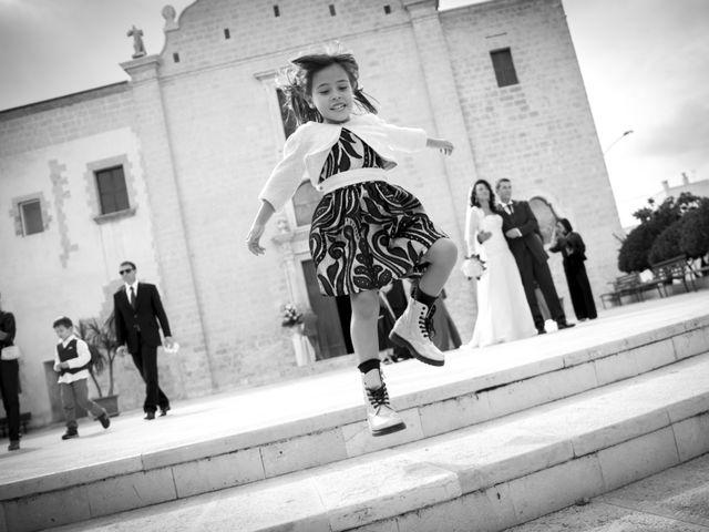 Il matrimonio di Michele e Tiziana a San Vito dei Normanni, Brindisi 27