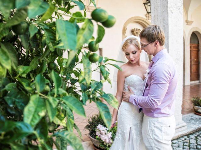 Il matrimonio di Andrea e Eva a Tivoli, Roma 23