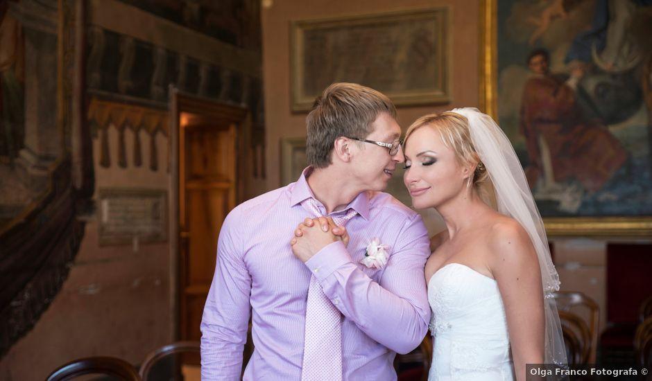 Il matrimonio di Andrea e Eva a Tivoli, Roma
