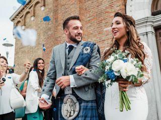 Le nozze di Pamela e Alan