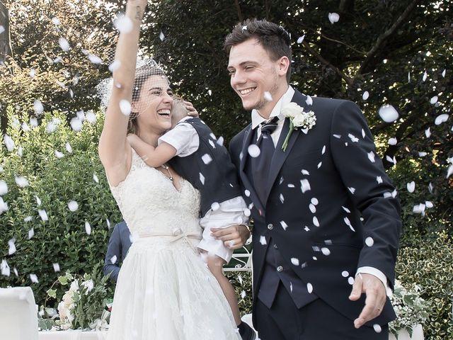 le nozze di Roberta e Vittorio