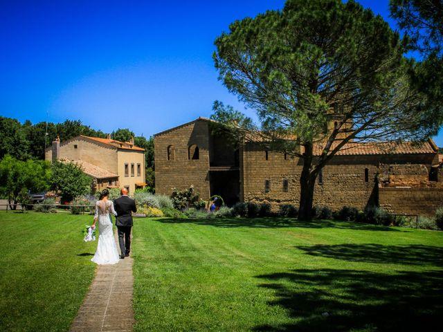 Il matrimonio di Walter e Anna a Tuscania, Viterbo 27